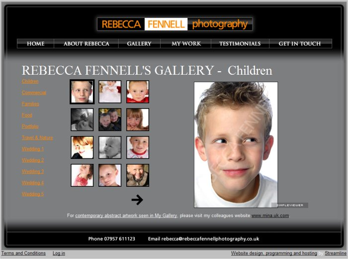 Photography website, photo gallery website, gallery, photo gallerp ...
